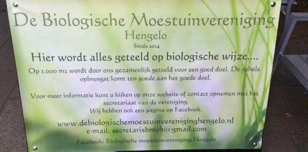 Informatiebord van de vereniging (© Nico Stroes).
