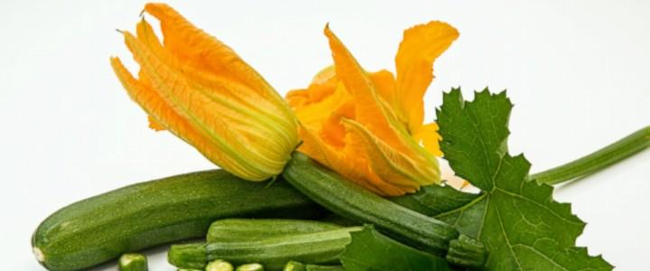 Eetbare bloemen: courgettebloemen