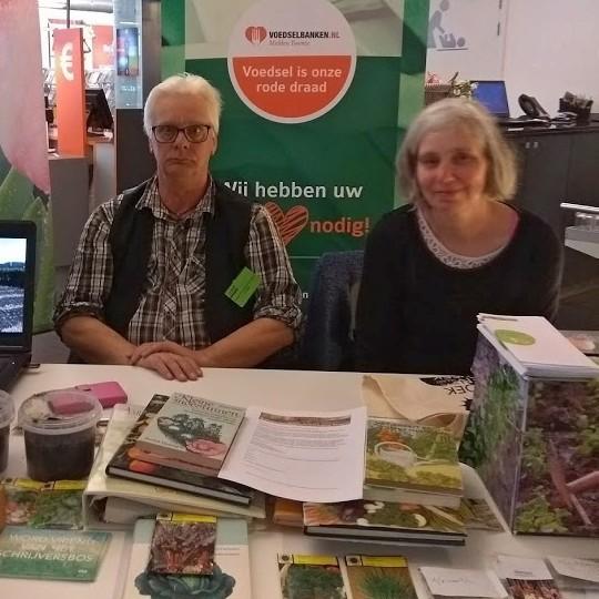 Boekenweek 2018 en de moestuinvereniging (© Eva van der Sman).